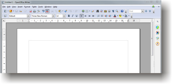 OpenOffice Writer -  An awesome MS Word alternative