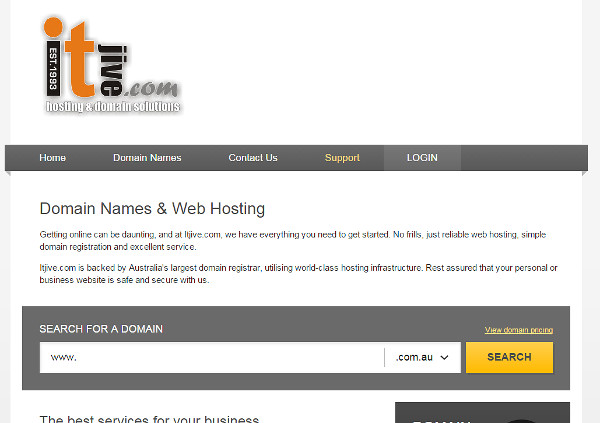 The Itjivehosting site for checking available domains. (I know shameless cross promotion!!)